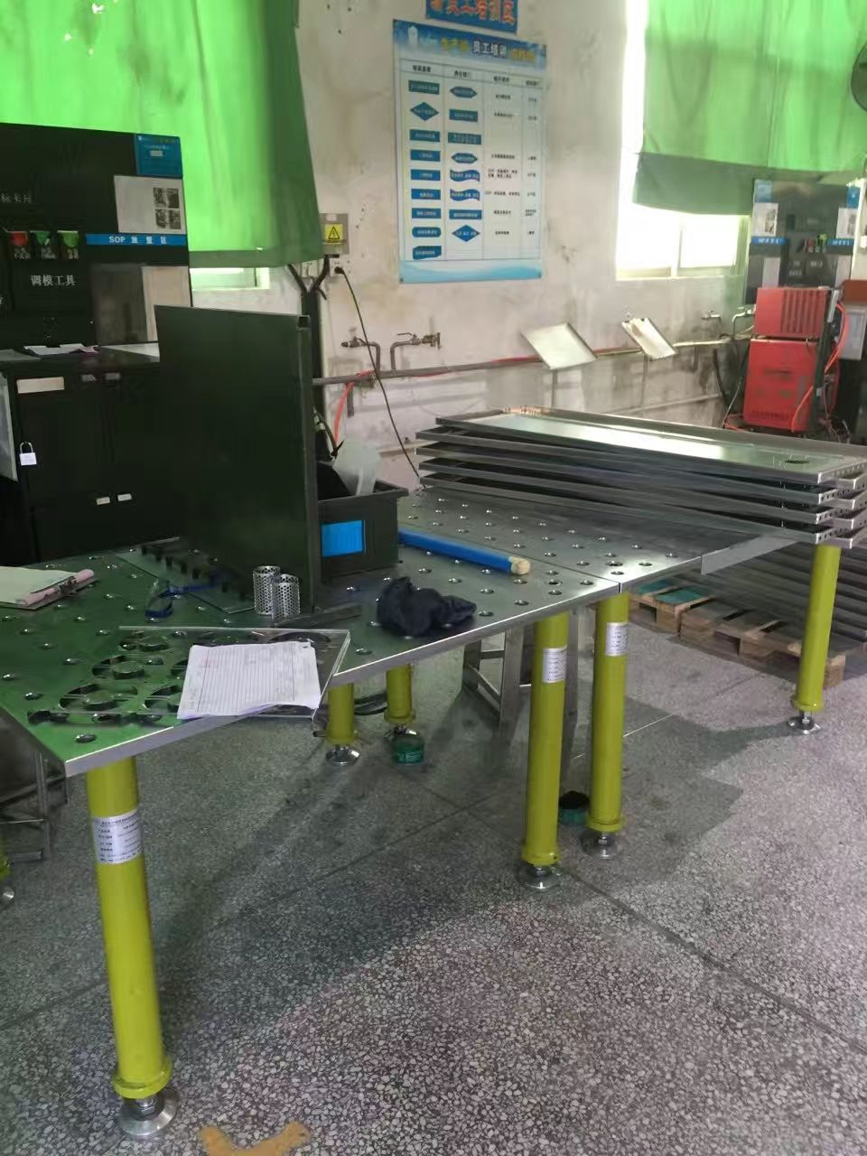 Manufacturer of 3D 28 series Welding Tables and