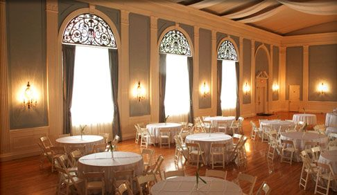 the ballroom of our central austin wedding and reception venue
