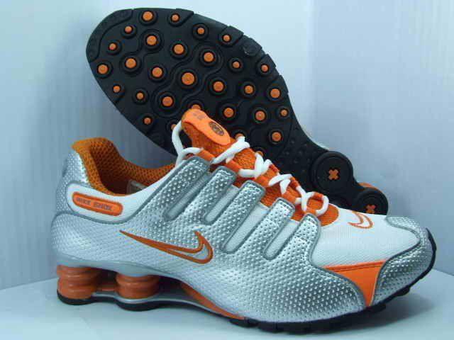 new images of united kingdom best shoes orange Nike Shox nz | Orange on Silver Nike Shox NZ, Nike | Nike ...