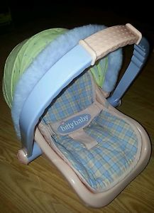American Girl Bitty Baby Doll Carrier Car Seat Retired
