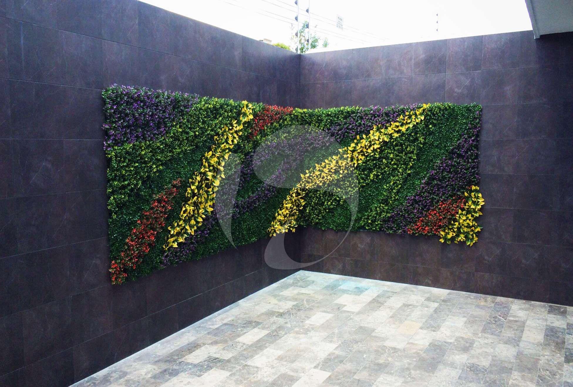 Muros verdes en la ciudad de puebla vertical gardens - Muros de jardin ...