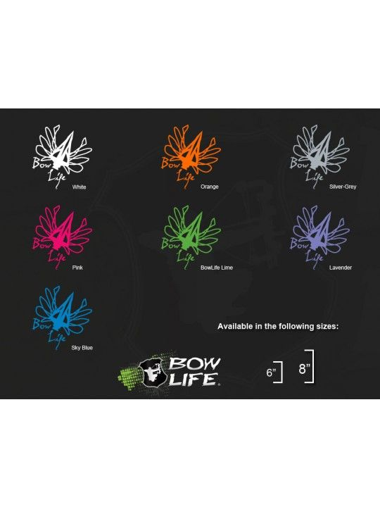 Bow Life BroadFly Decal - Assorted Colors