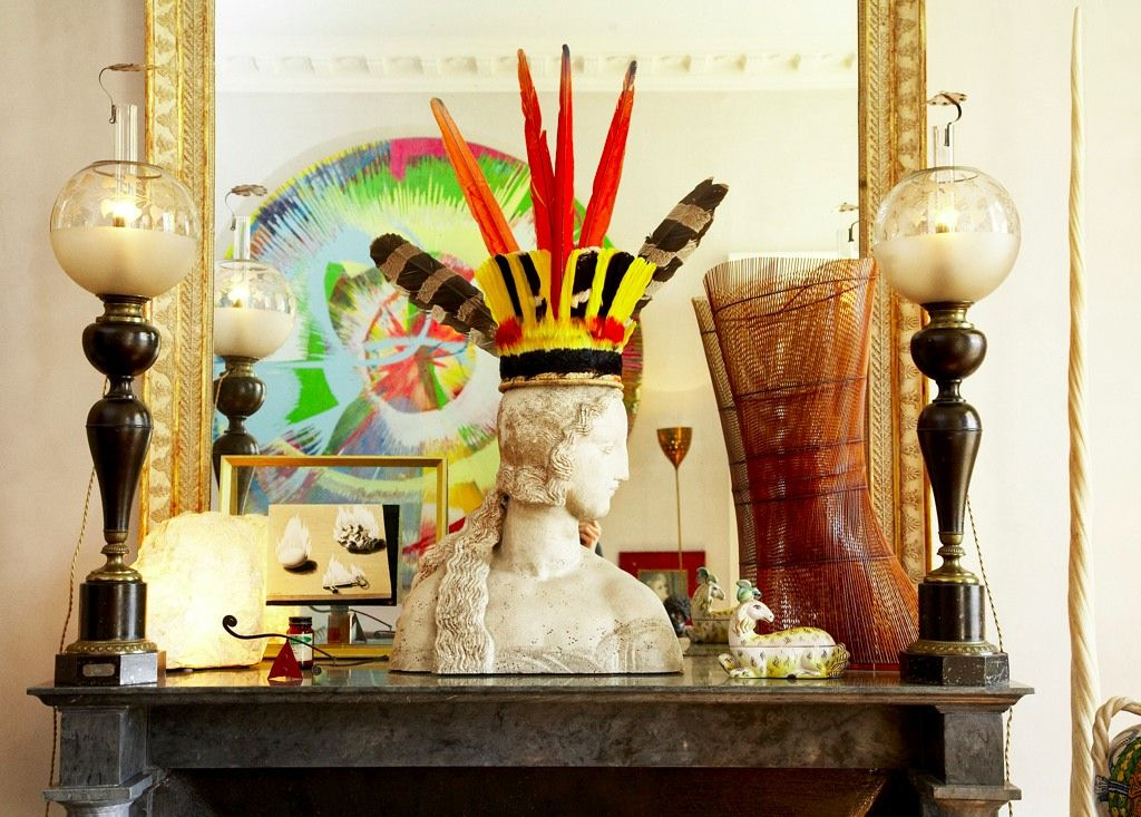 busts as hat stands art random interiors ideas rh in pinterest com
