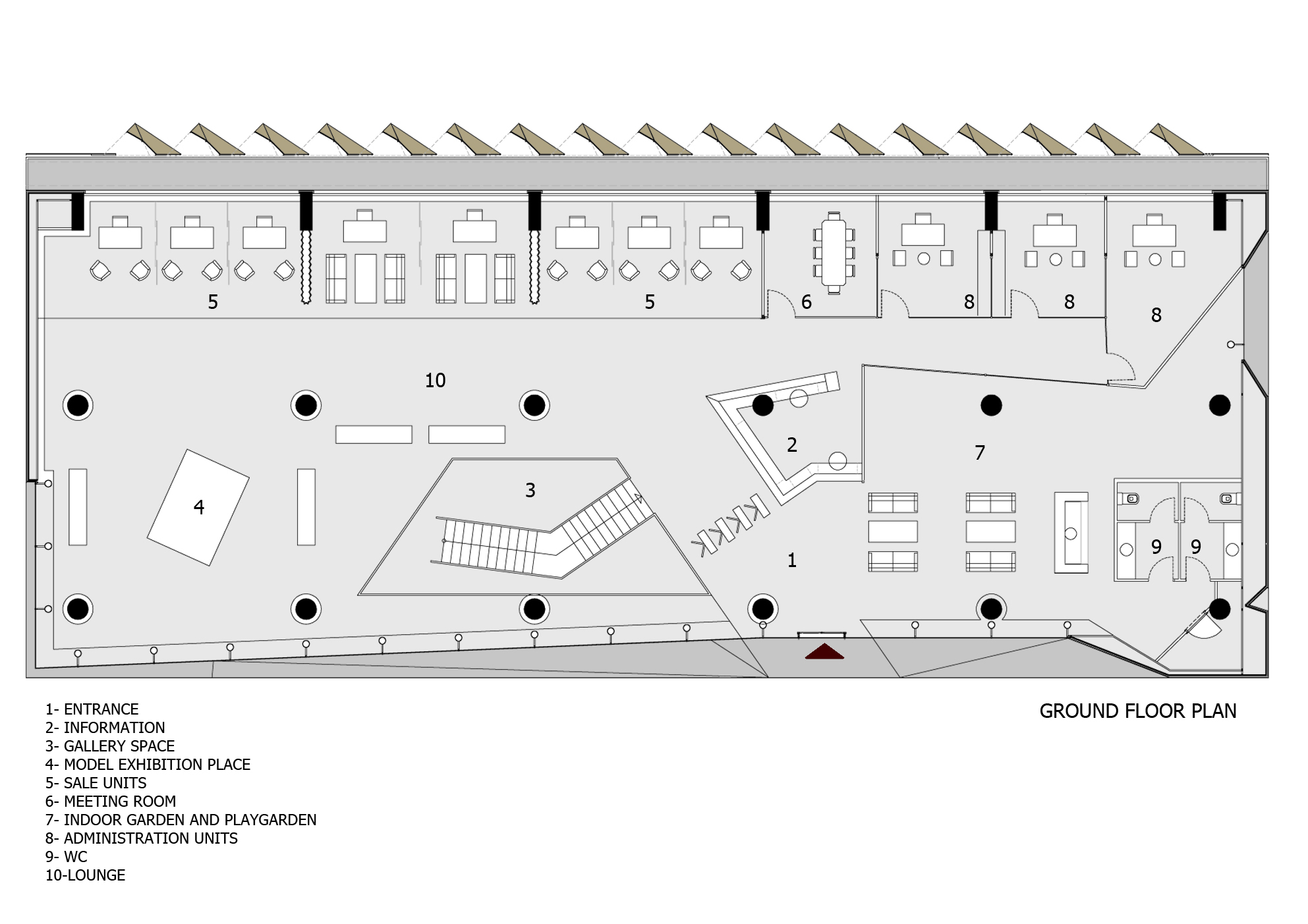 Gallery of office building in istanbul tago architects for Office floor plan online