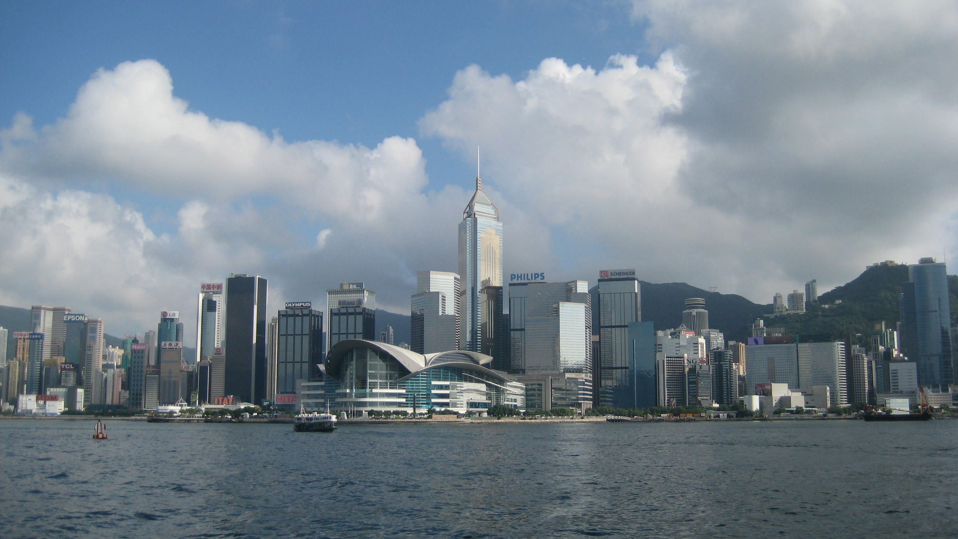 victoria harbour view from kowloon side hong kong places i ve rh pinterest com