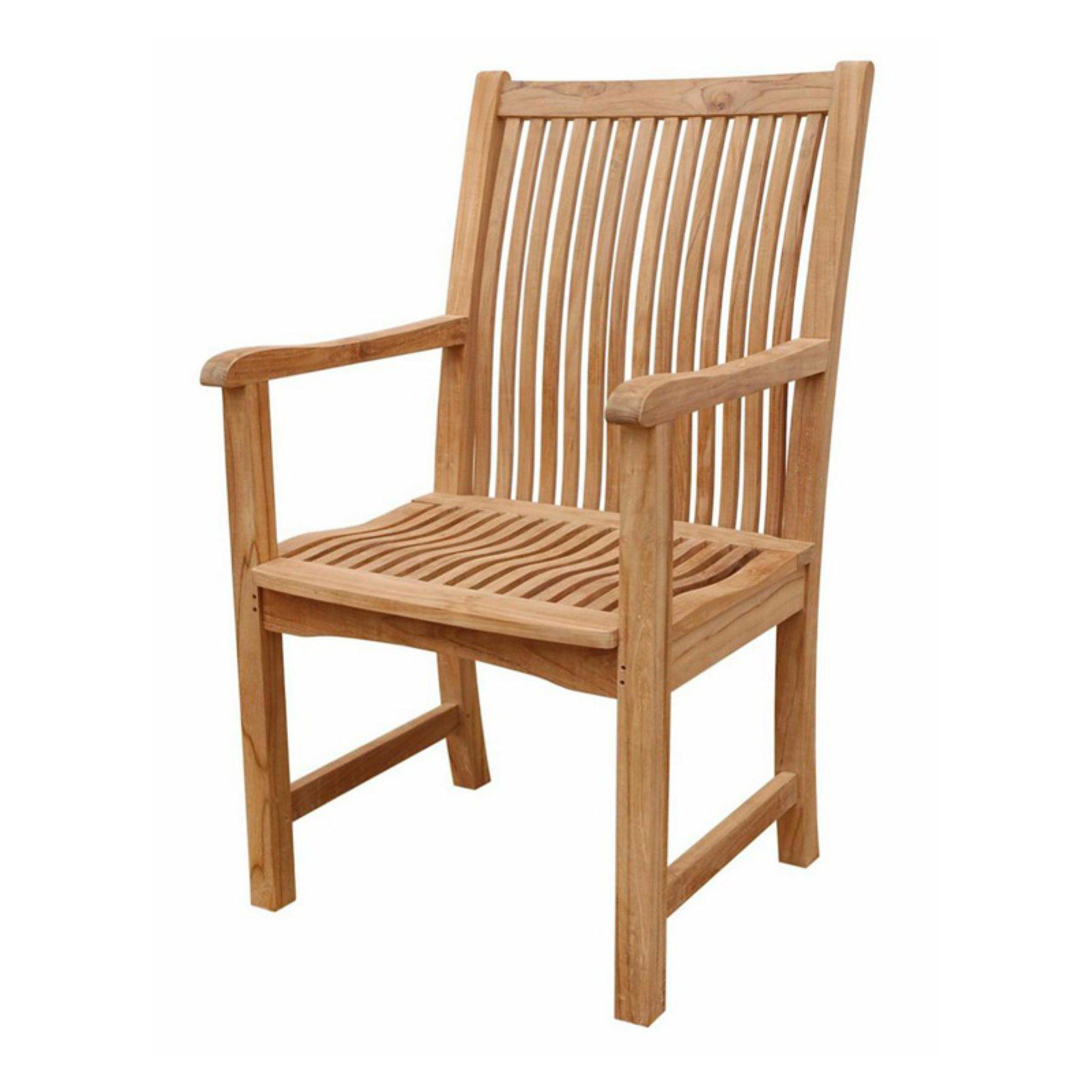 anderson teak chicago outdoor dining armchair in 2019 products rh pinterest com