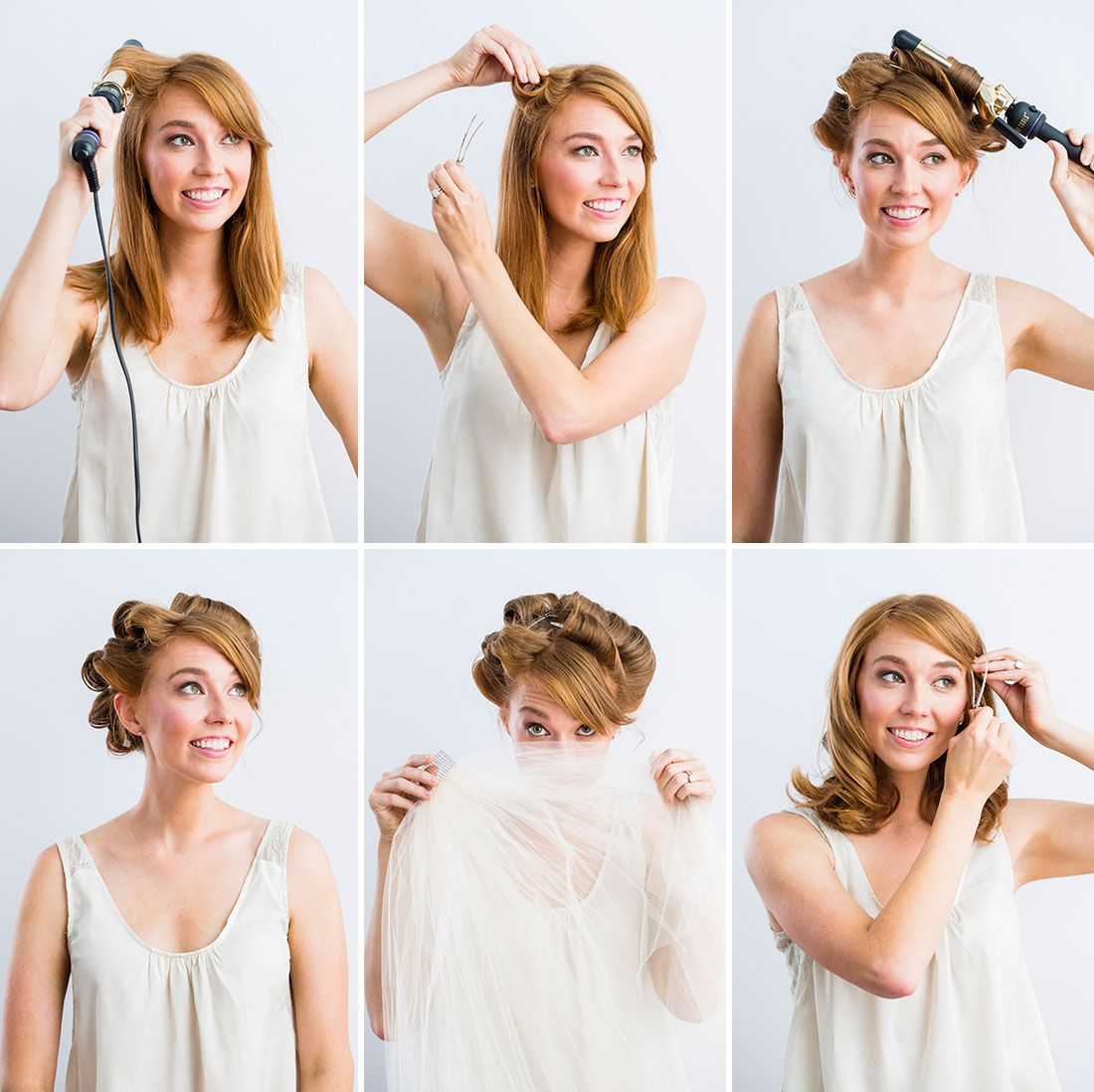Set your hair for an updo with these instructions  Beauty from