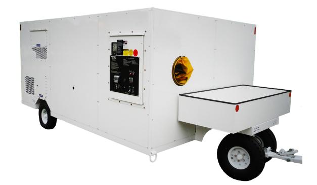 Tug aircraft air conditioner ac25e for Ground air conditioner