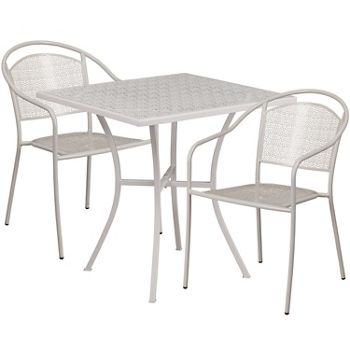 28 folding table and two armchairs outdoor furniture patio rh pinterest com