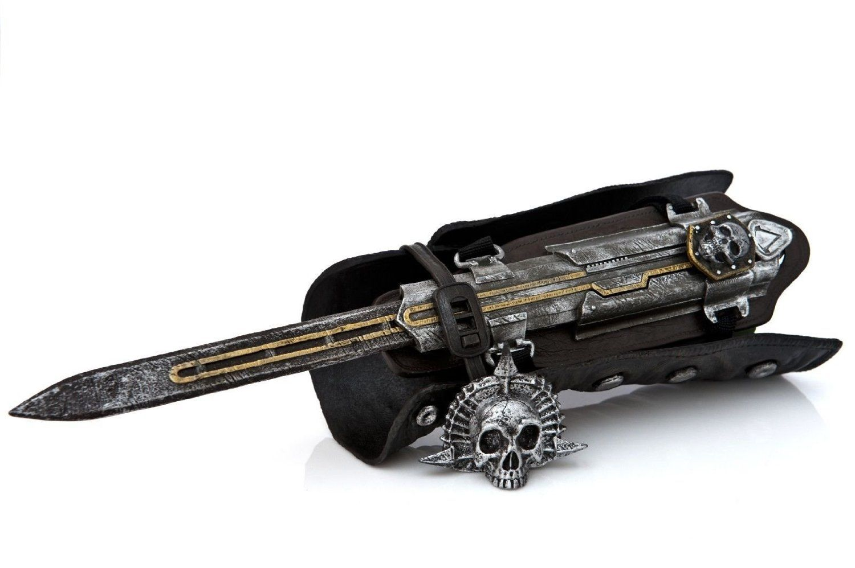 Assassin S Creed 4 Iv Black Flag Edward Kenway Gauntlet Hidden Blade Cosplay Replica Amazon Co Uk Toys Games Cosplay Sci Fi Replicas