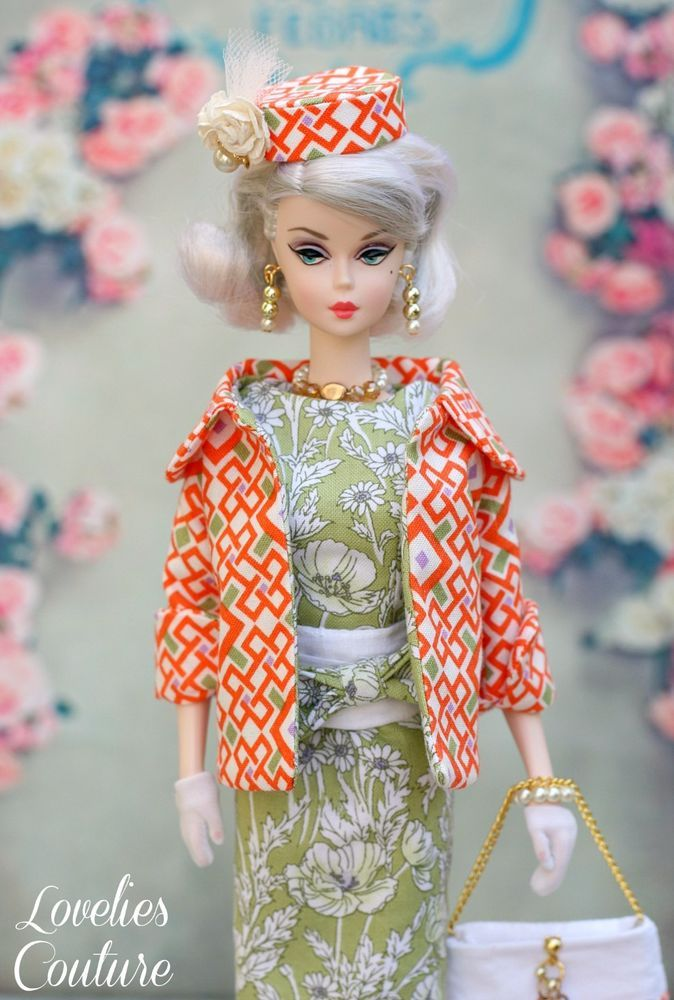 OOAK Silkstone Vintage Barbie Fashion Royalty by Katia - Clementine 8 Pieces #Loveliescouture