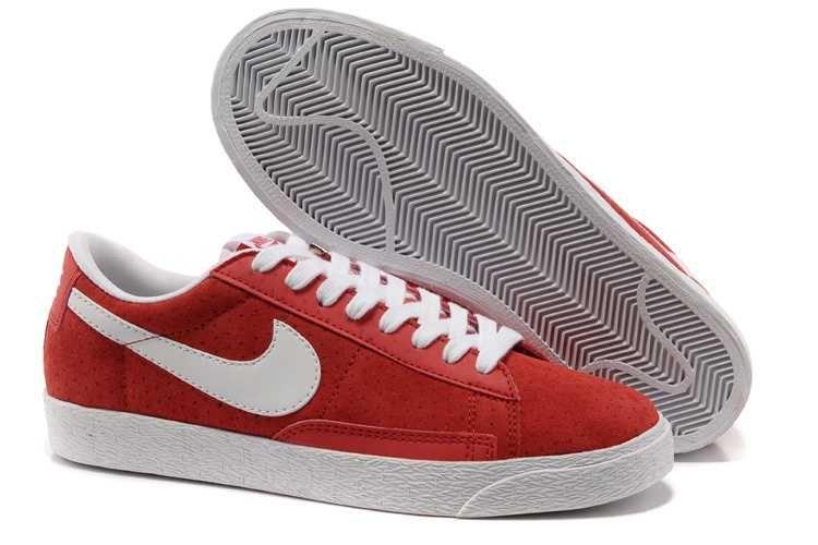 cheap for discount 85bad b7abe 1443  Nike Blazer Low Dam Herr Sky Vit Crimson SE116934UmIAHfWE