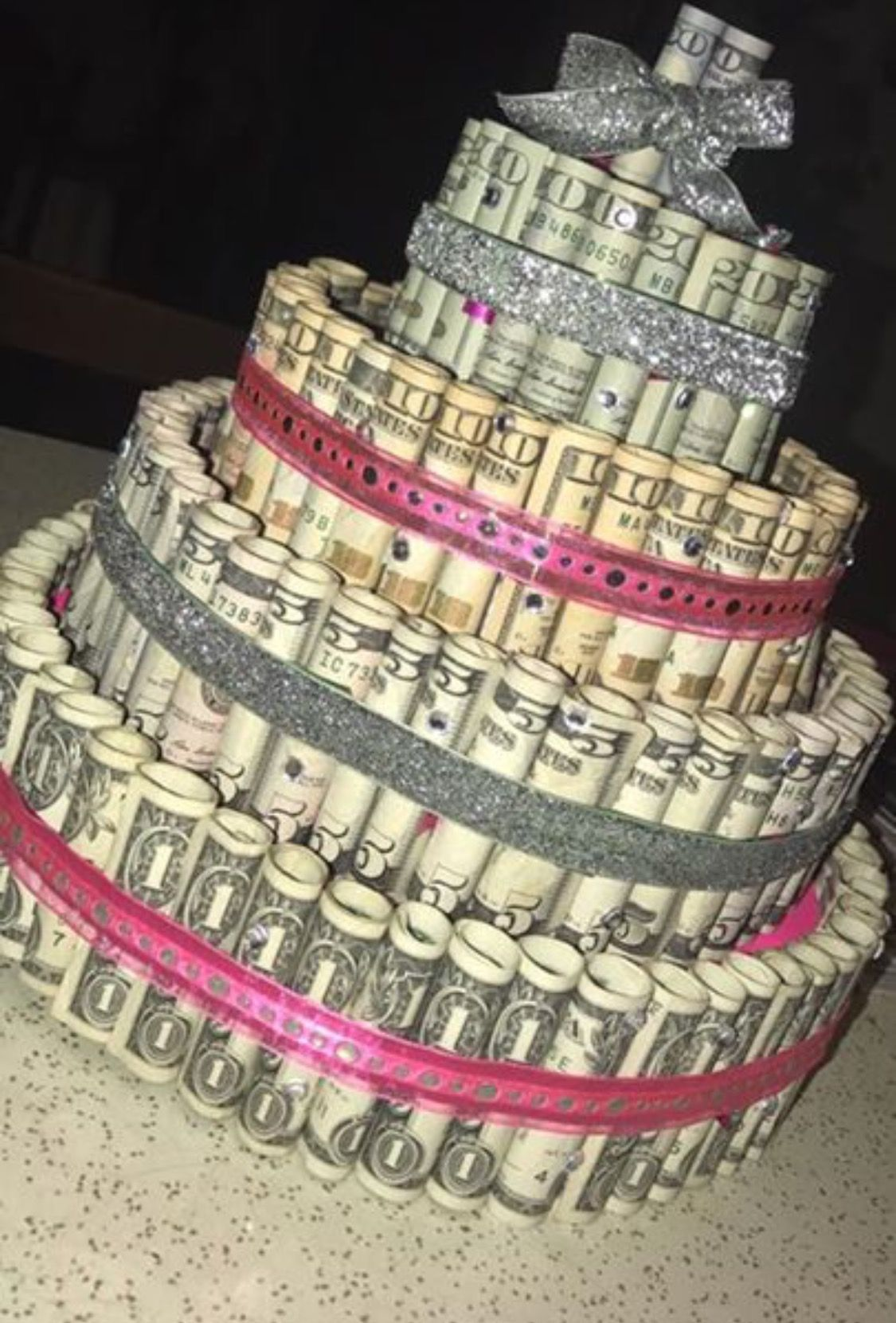 Money Birthday Cake Cash Money Pinterest Birthday cakes