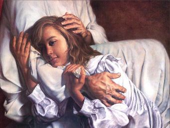 Image result for prophetic art leaning on the Lord
