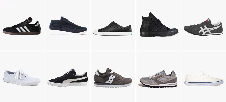 Sneakers, Classic sneakers