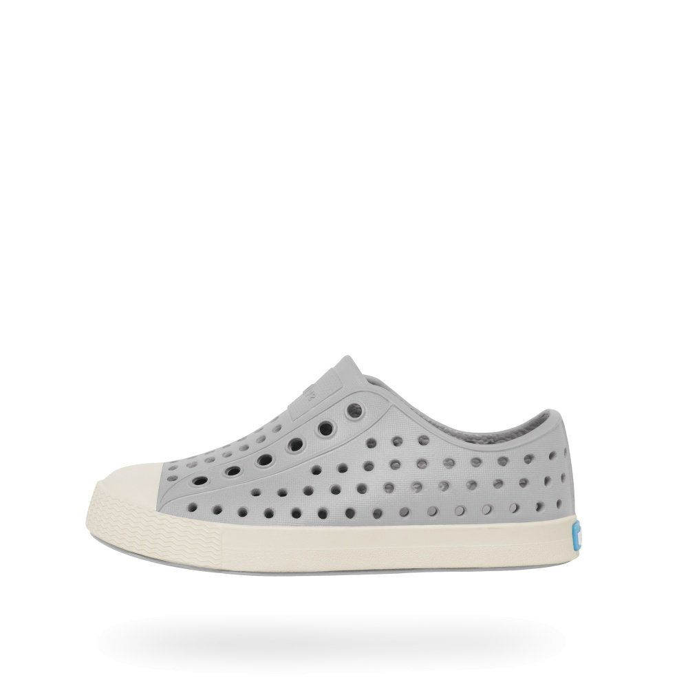 Native Shoes Kids Jefferson Pigeon Grey / Bone White Tiny Style Noosa,  Australia