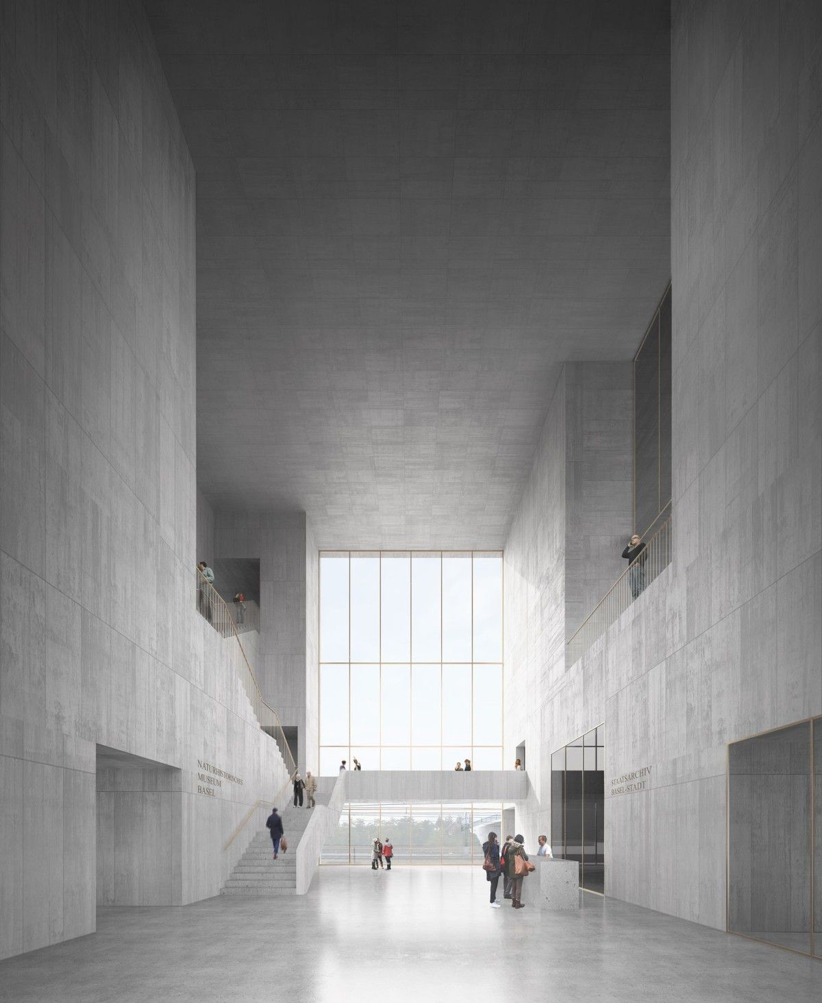 barozzi veiga new museum of natural history basel 4 arch renderings pinterest. Black Bedroom Furniture Sets. Home Design Ideas