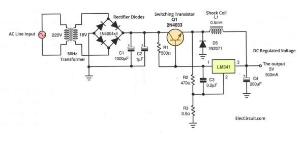 What is switching power supply vs linear, how does it work