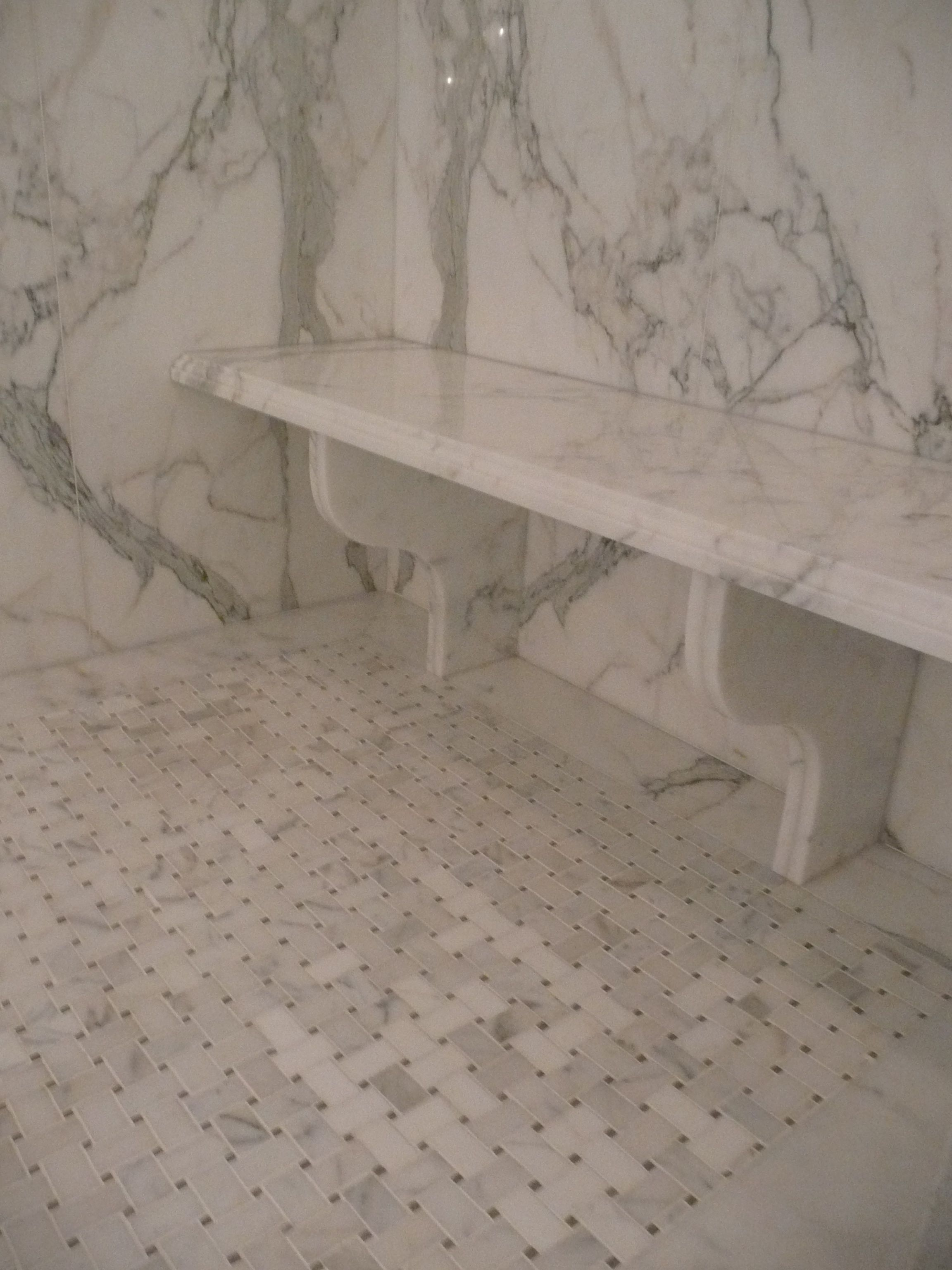 A Beautiful Bathroom Transformation Bench Granite And