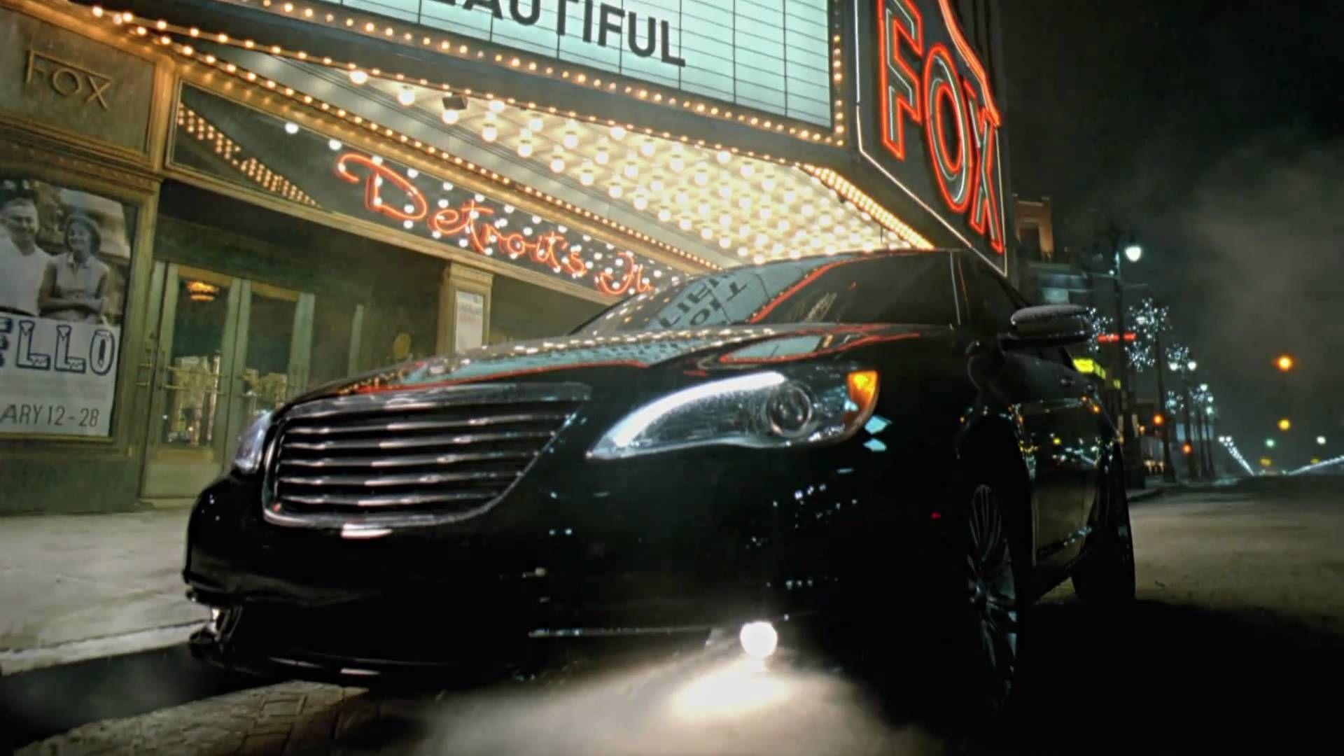 Chrysler Eminem Super Bowl Commercial Imported From Detroit Detroit Car Ads Super Bowl Commercials