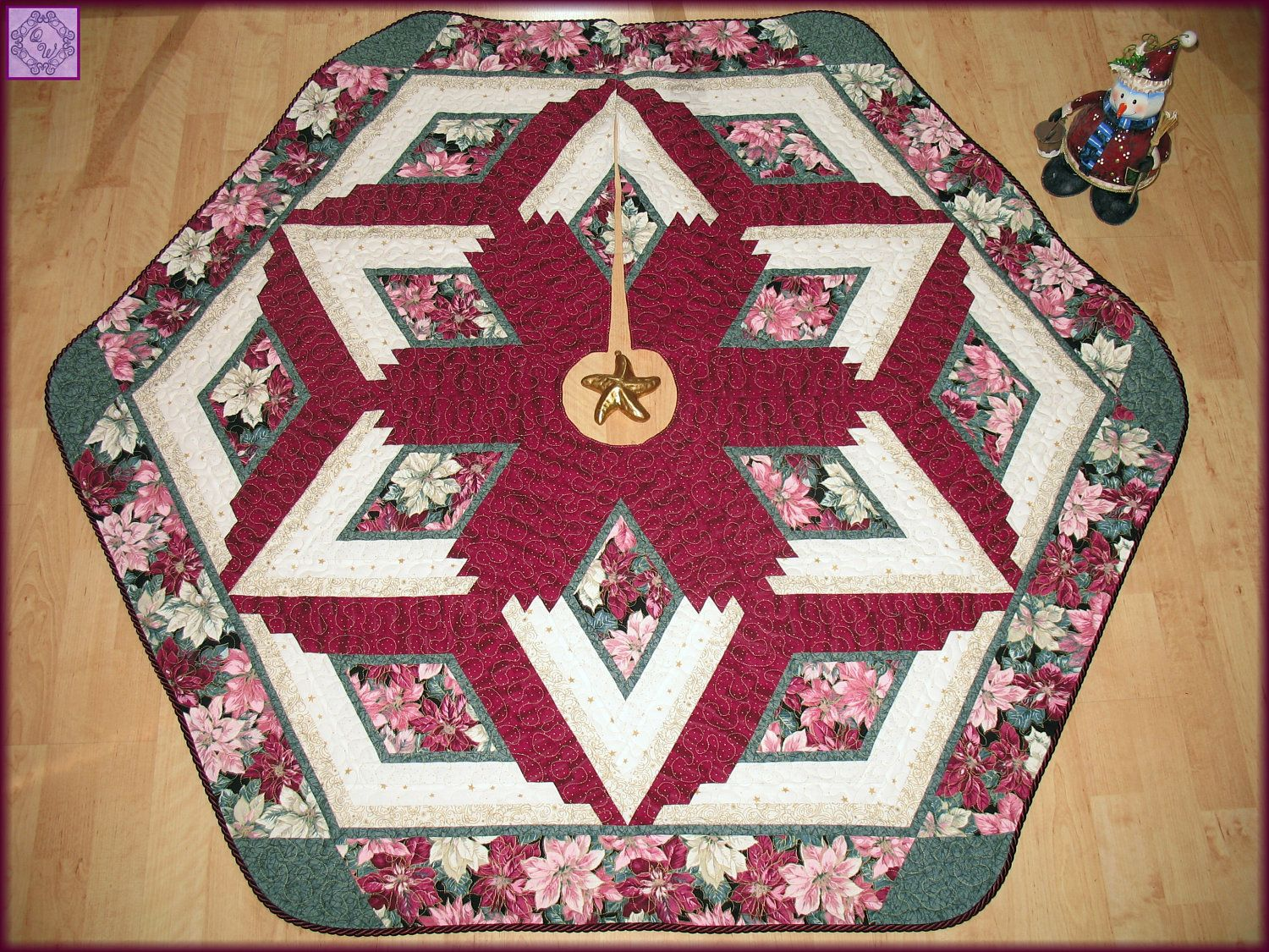 Christmas Tree Skirt Quilt Patterns Best Decorating