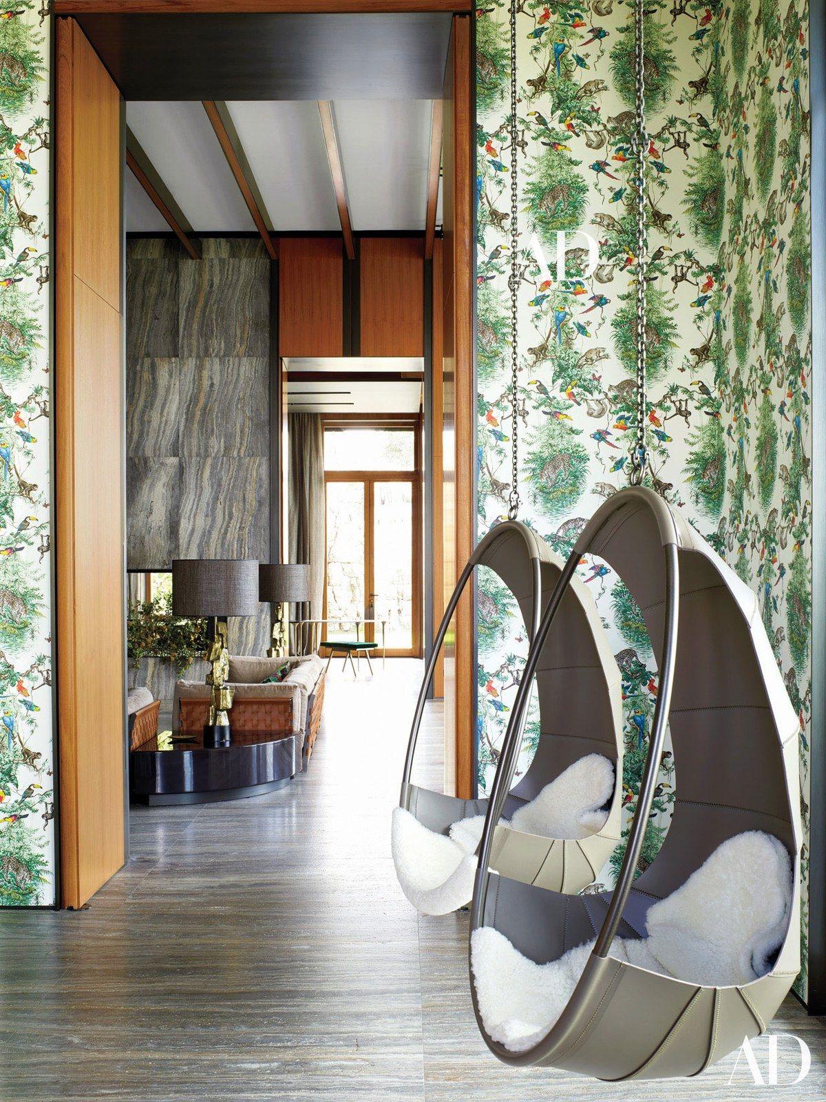 Ivano Redaelli swing chairs hang in the