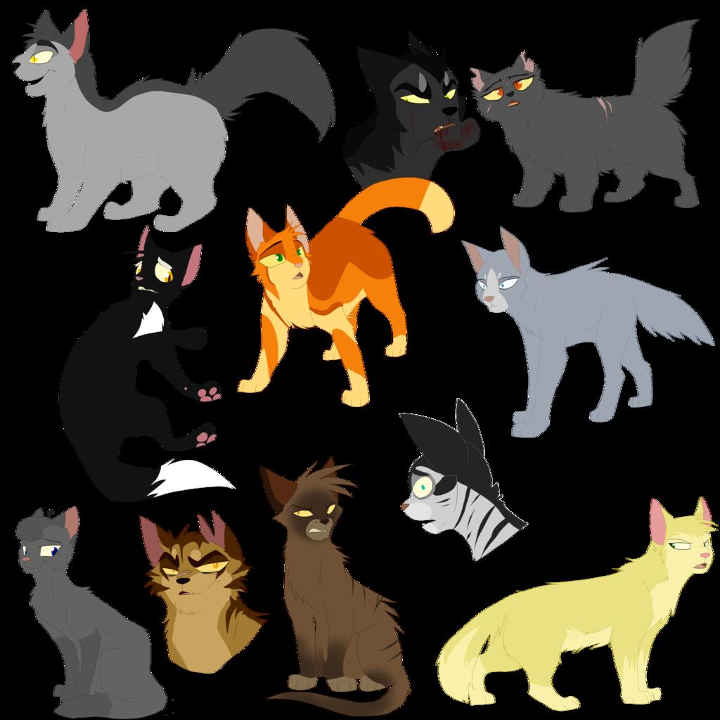 Warrior Cat Batch 1 by on