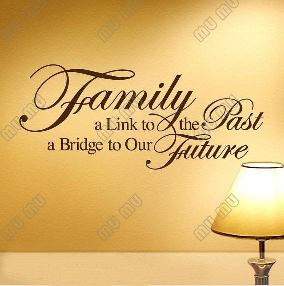 family quotes and sayings | ... Vinyl wall lettering stickers quotes ...