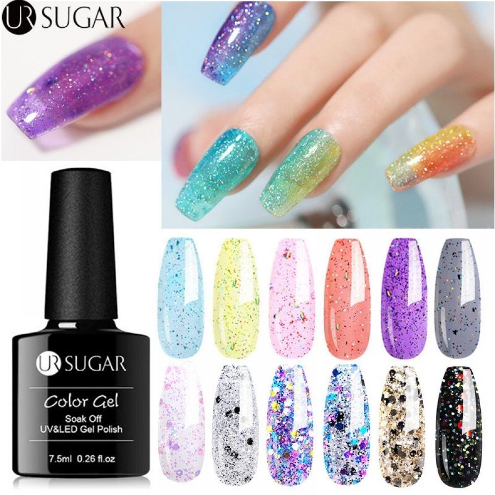 Aliexpress.com : Buy LILYCUTE Glitter Gel Nail Polish 5ML