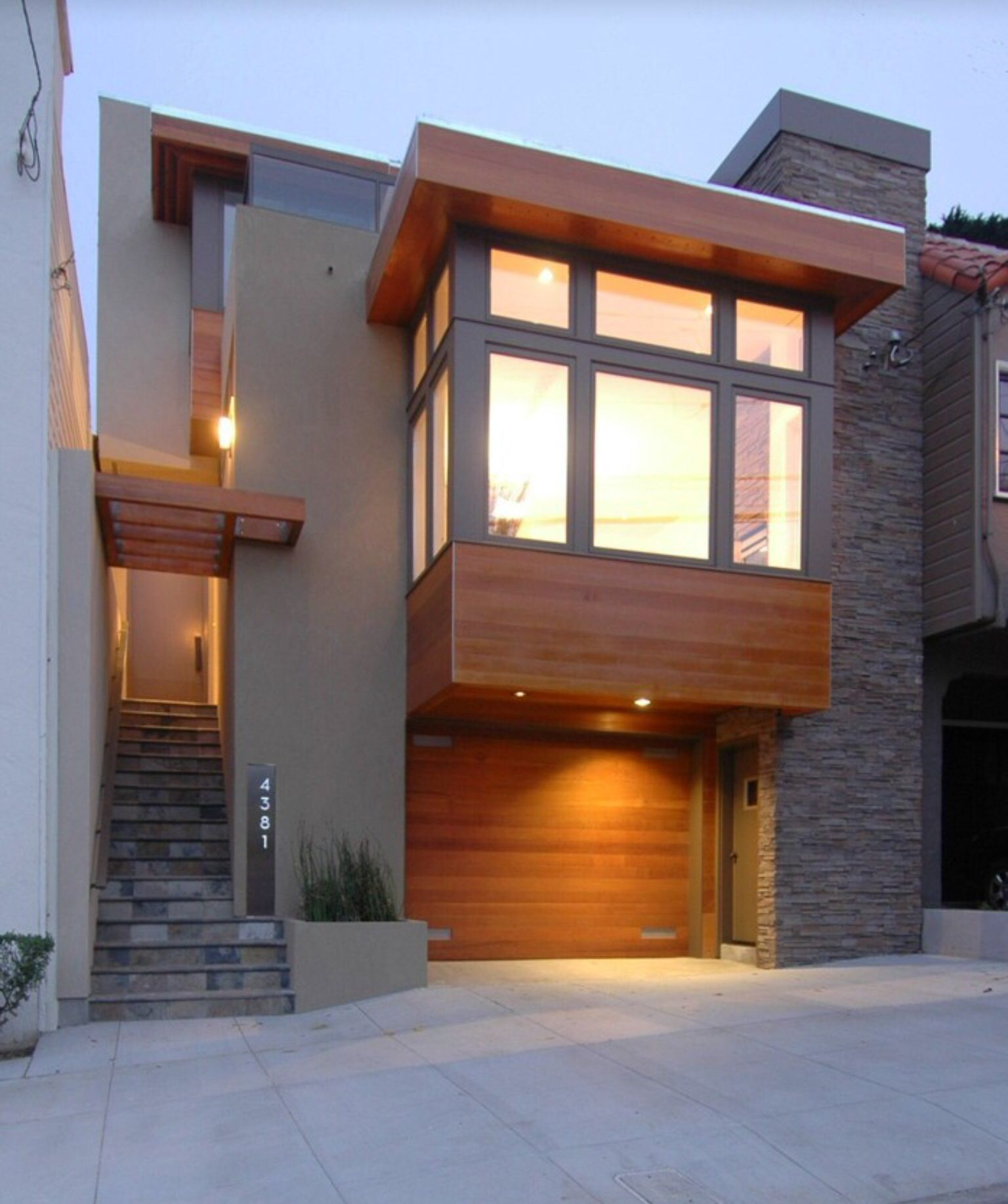 18 Awe Inspiring Modern Home Exterior Designs That Look Casual: House Design, Modern