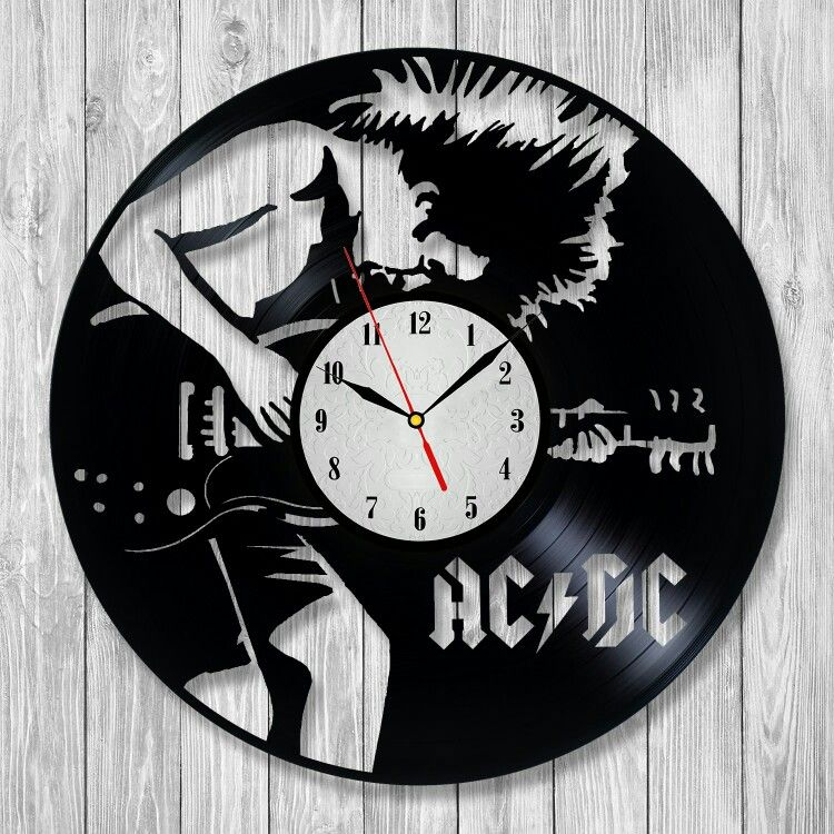 AC DC Amazing clock will become a