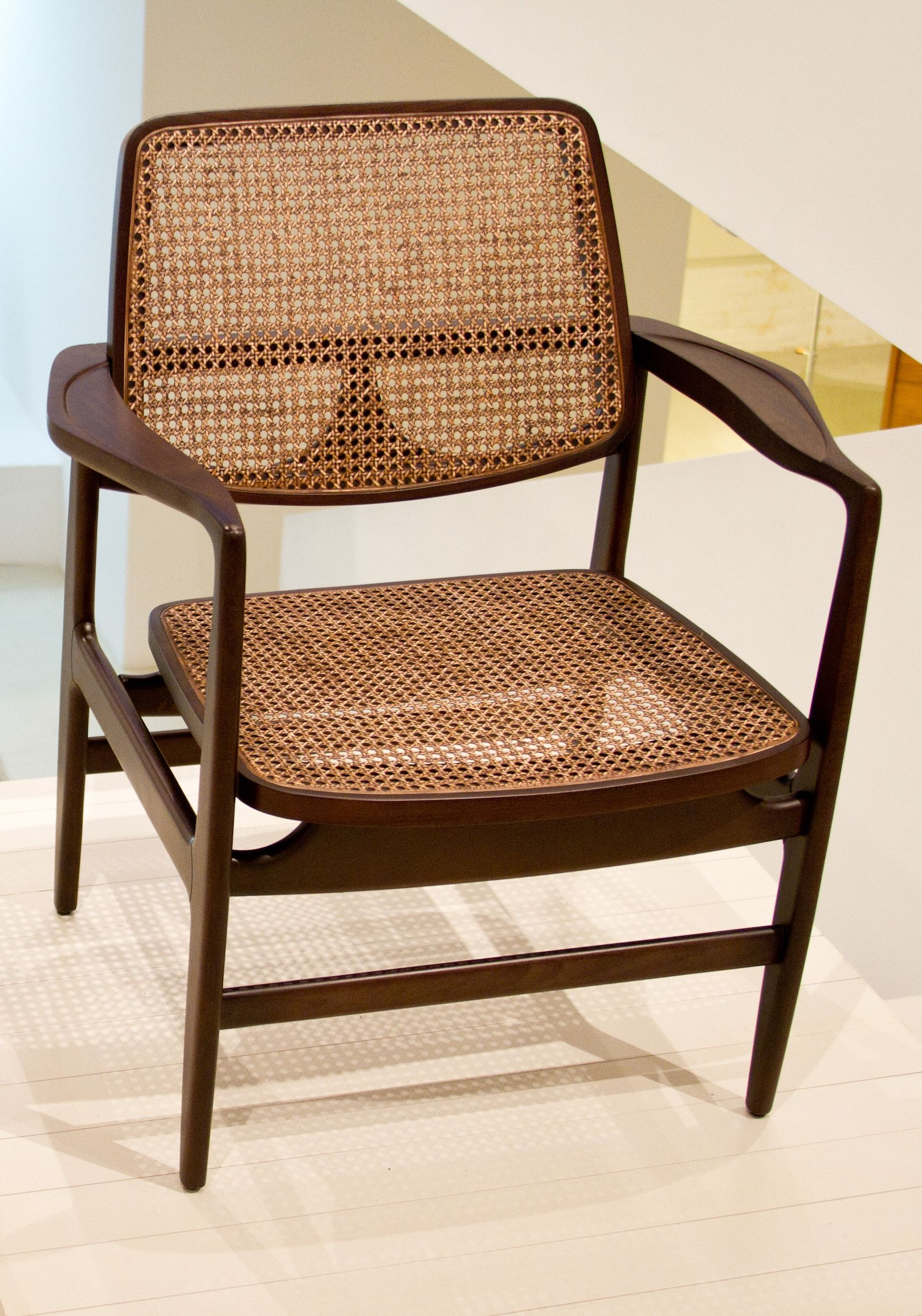 Oscar armchair by Sergio Rodrigues. Available at ESPASSO