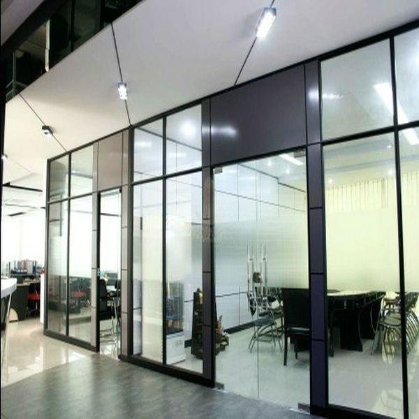 en aluminium partition cube de verre buy verre cabine partition bureau meubles cloison de. Black Bedroom Furniture Sets. Home Design Ideas