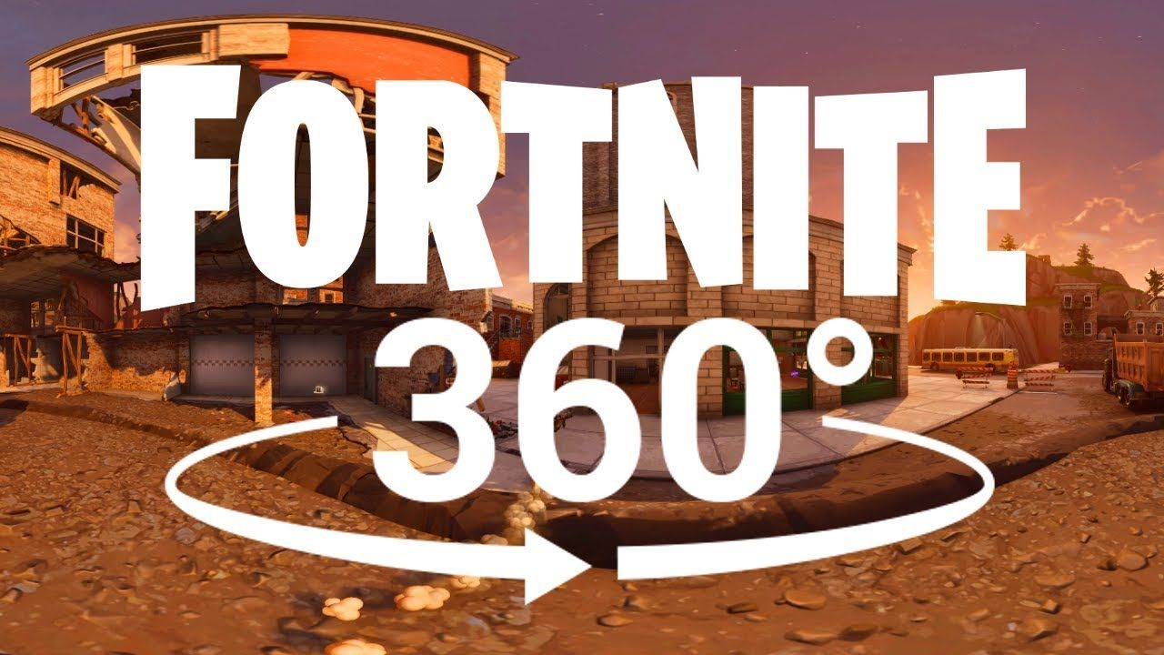 Fortnite 360° VR Experience YouTube Virtual reality