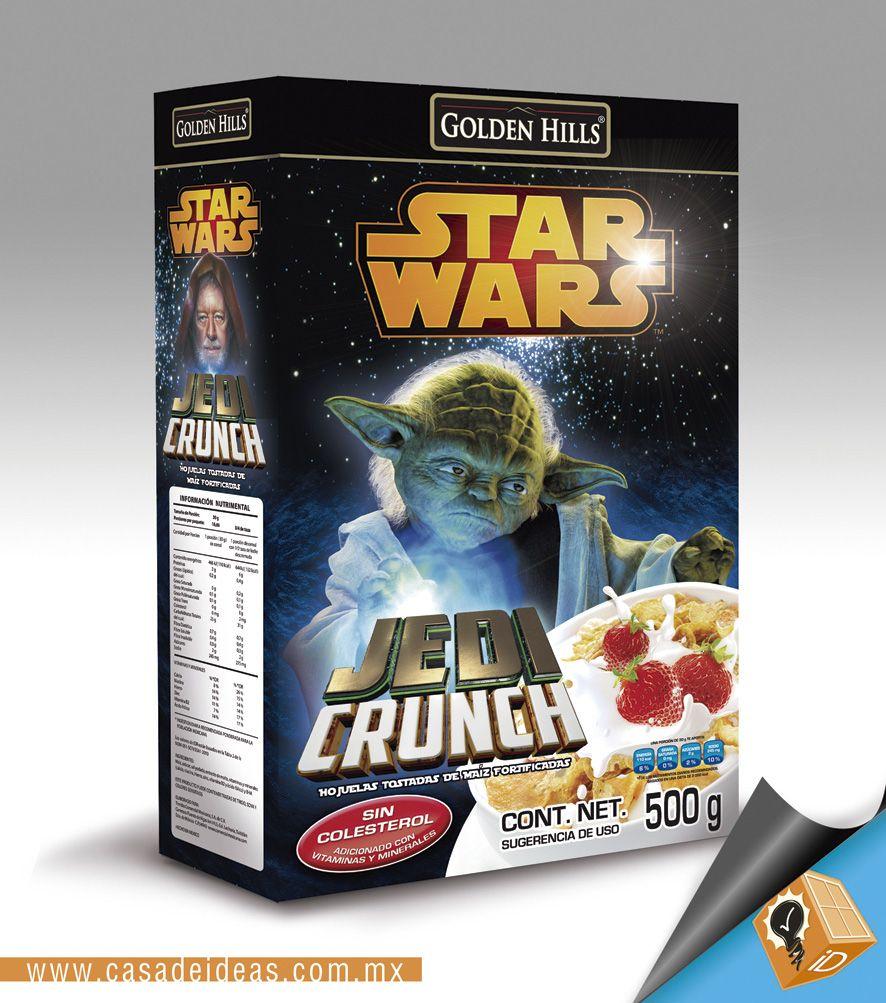 "Cereales Star Wars ""Master Yoda"" por #AmoCasaDeIdeas"