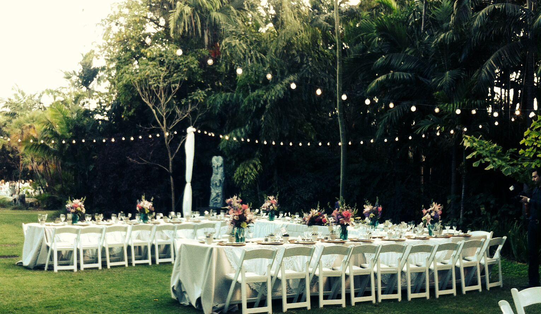 beautiful wedding locations in southern california%0A Simple yet beautiful garden wedding reception  Miami Beach Botanical