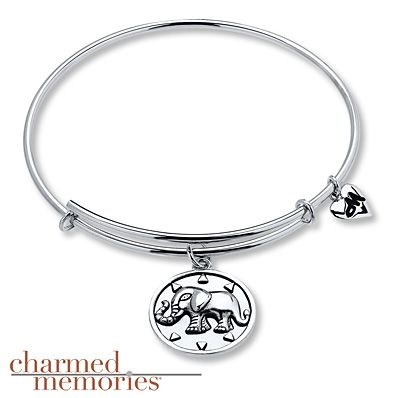 Charmed Memories Dragonfly Bangle Bracelet Sterling Silver SHiQLl6