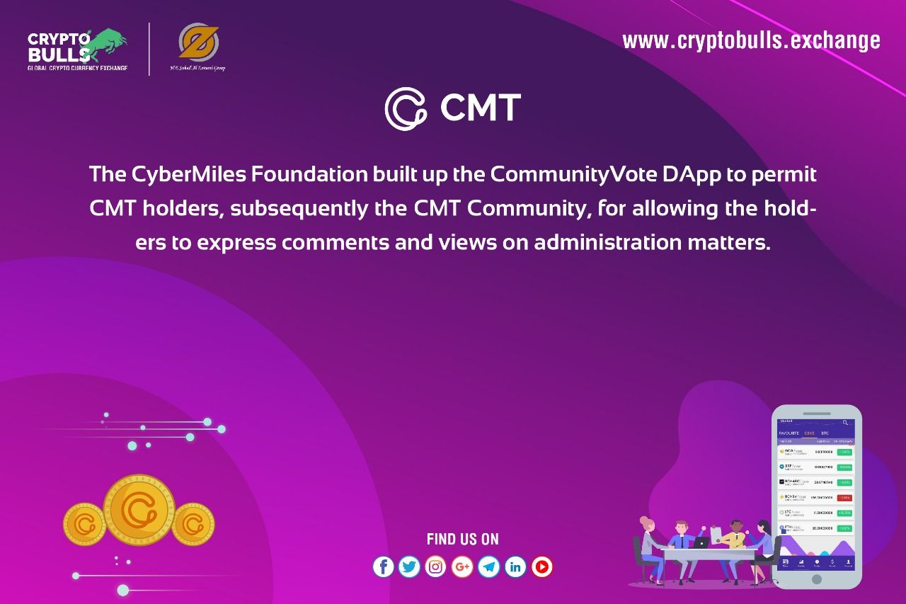 The CyberMiles Foundation built up the CommunityVote DApp