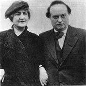 Alma  Mahler-Werfel and Franz Werfel 1935 in New York