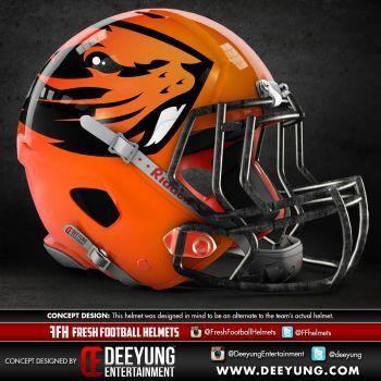 Artist Creates Concept Helmets For Ncaa Football Teams Ncaa