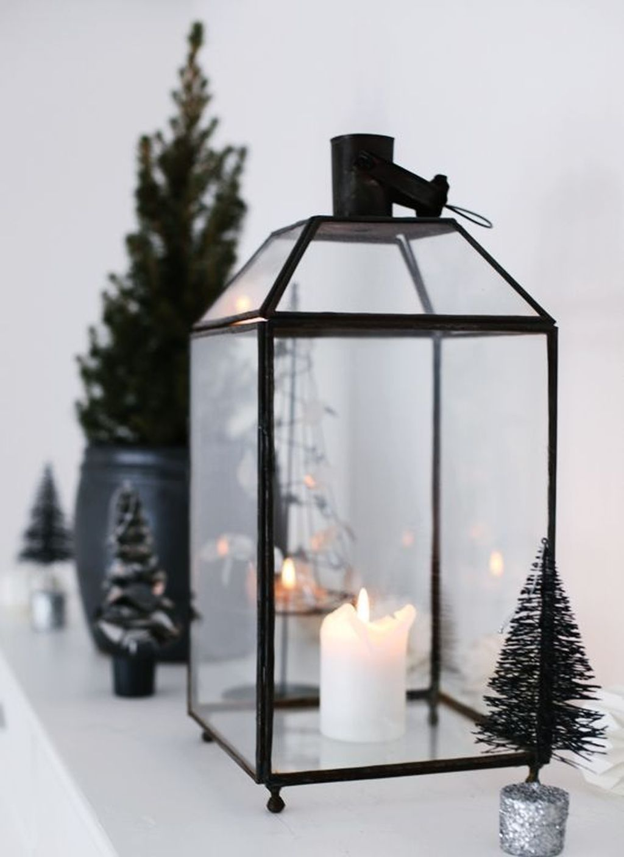 50 Stylish Modern Scandinavian Christmas Tree Decor Ideas #blackchristmastreeideas