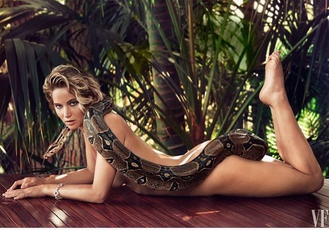 Jennifer Lawrence by Patrick Demarchelier for Vanity Fair