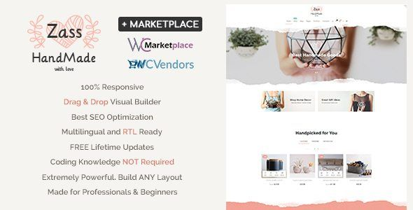 Download Zass v1.7.5 - WooCommerce Theme for Handmade Artists and ...