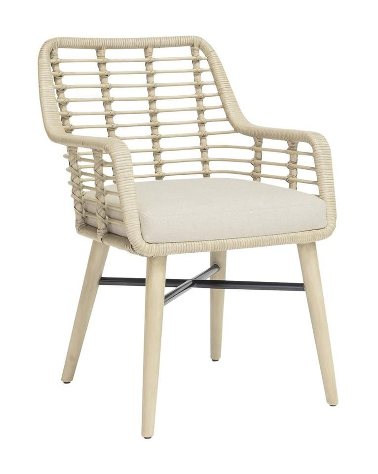 emelia arm chair vintage white in 2018 dining side chairs rh pinterest com