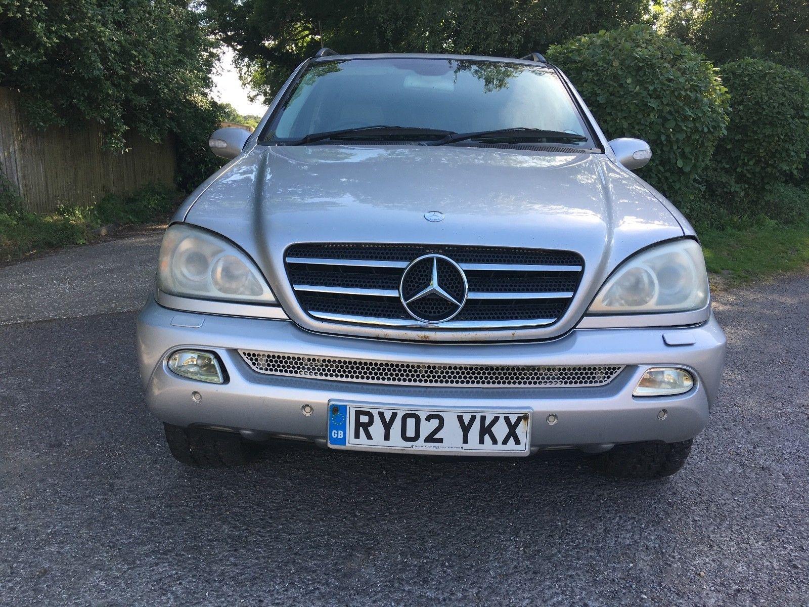 mercedes ml500 lpg runs drives spares or repair no mot 7 seater not rh pinterest com