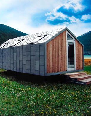 Casas modulares y prefabricadas de dise o casas de madera arquitectura casas modulares - Viviendas ecologicas prefabricadas ...