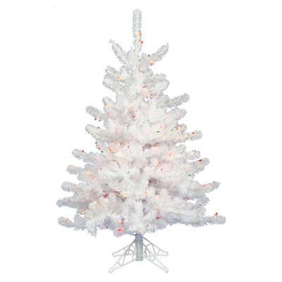 Artificial Christmas Trees 117414 Vickerman 3 Ft Crystal Pre Lit