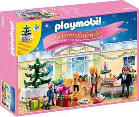 Playmobil Weihnachtsbaum.Playmobil 5496 Adventskalender Weihnachtsabend Mit Beleuchtetem