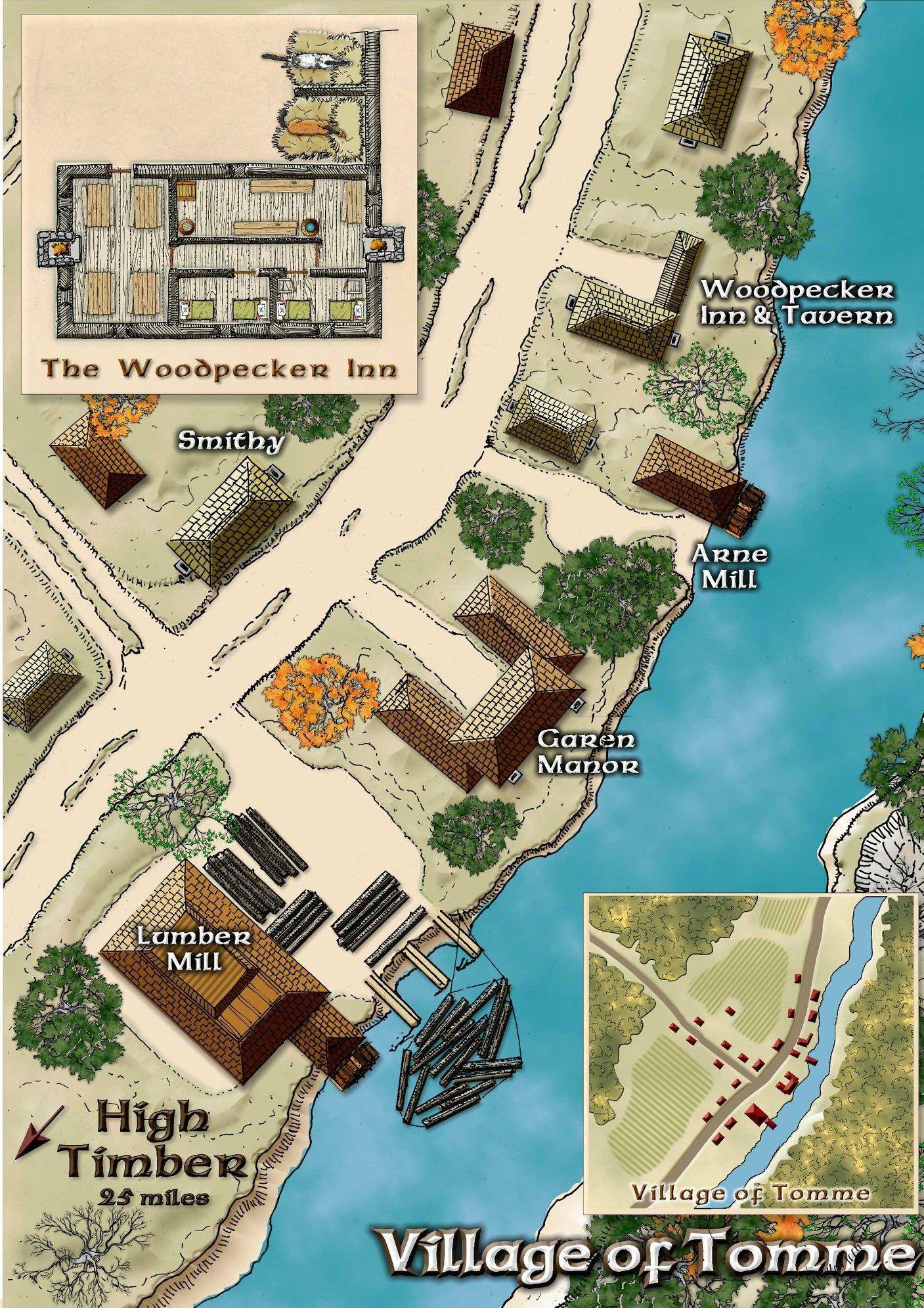 tomme village d d resources fantasy map city maps dungeons rh pinterest com