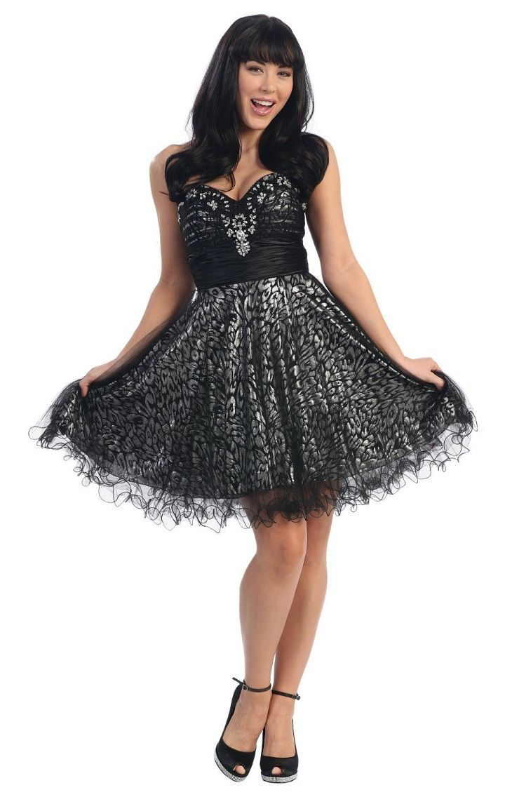 Homecoming Dresses Junior Prom Party Sparkly Prom